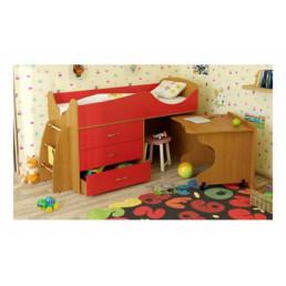 Детская кровать Карлсон микро с выдвижной зоной