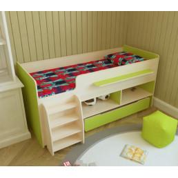 Детская кровать с лесенкой Тимон