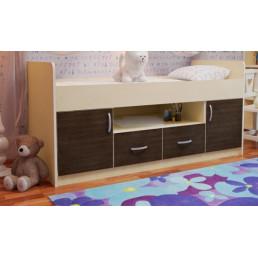 Детская кровать-чердак Дм51