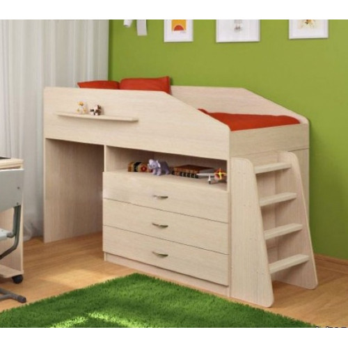 Детская кровать-чердак Дет56а