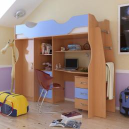 Детская кровать Карлсон 4