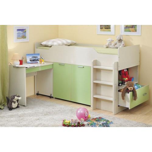 Детская кровать-чердак Дм42