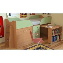 Детская кровать-чердак Дет41