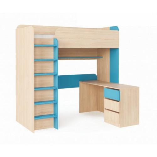 Детская кровать-чердак Дм110