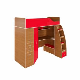 Детская кровать-чердак Дм76