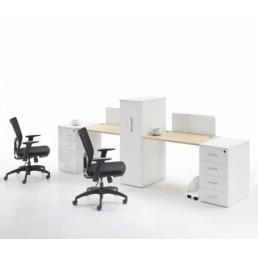 Офисные столы для персонала с перегородками СПП4