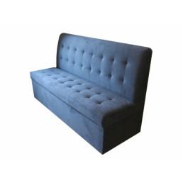 Кухонный диван Синий