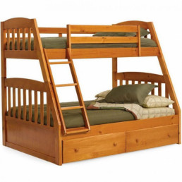 Детская двухъярусная кровать Алиса