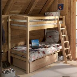 Детская двухъярусная кровать Кадет 3